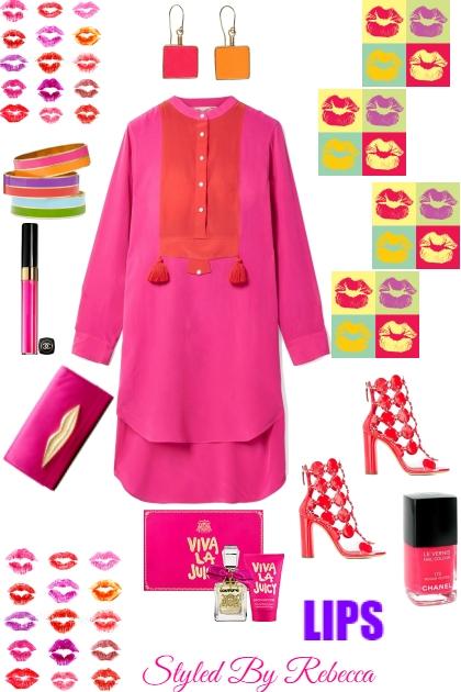 LIPS Speak - Fashion set