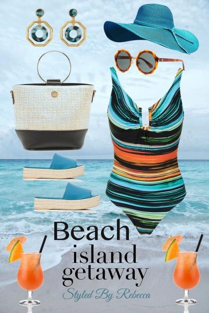 Beach ,Island Getaway- Kreacja