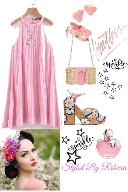 Limitless Pink- Fashion set