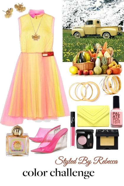 Yellow&Pink Color Challenge