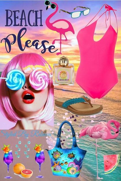 Beach Please- Combinazione di moda