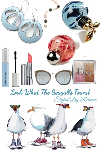 Look What The Seagulls Found- Combinaciónde moda