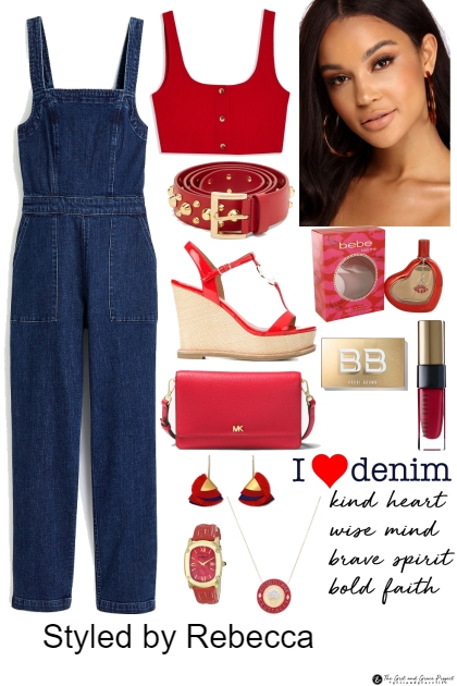 A Denim Red Day
