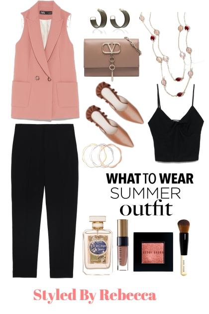 What To Wear -Summer Outfit - Combinazione di moda
