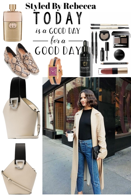 Good Day Stroll For A Casual Girl