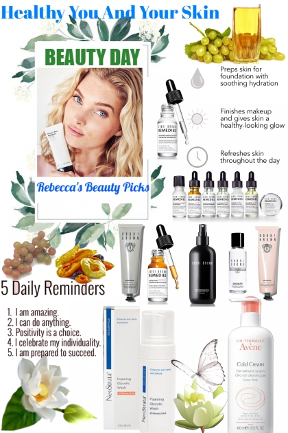 Healthy You And Your Skin- Fashion set