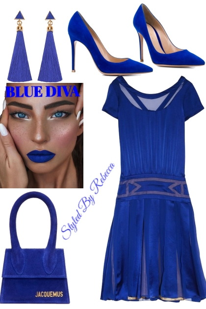 Blue Diva Looks-Royal Blue