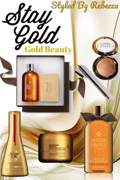 Stay Gold/Gold Beauty Picks