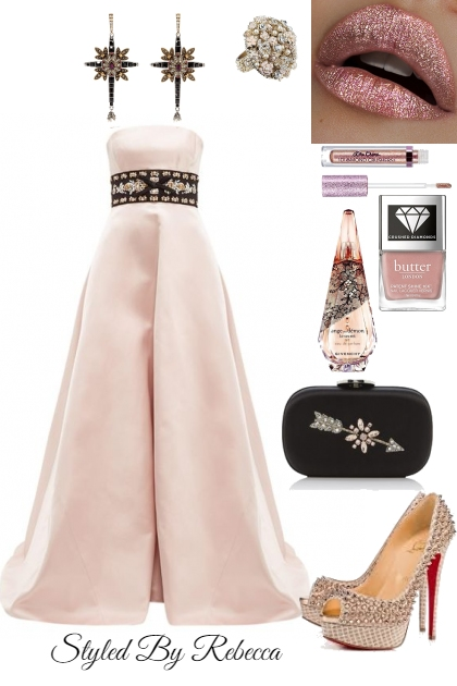 Soft Pink Elegance Night