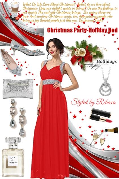 Poems And Holiday Fashion- Fashion set