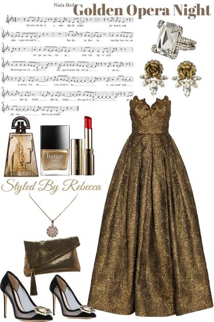 Golden Opera Night .