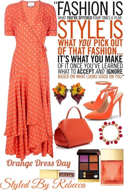 Orange Dress Day