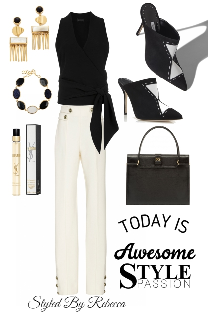 Black And White Awesome Work Style