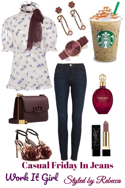 Casual Friday In Jeans-Working Girls Style