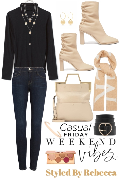 Casual Weekend Vibes- Combinaciónde moda