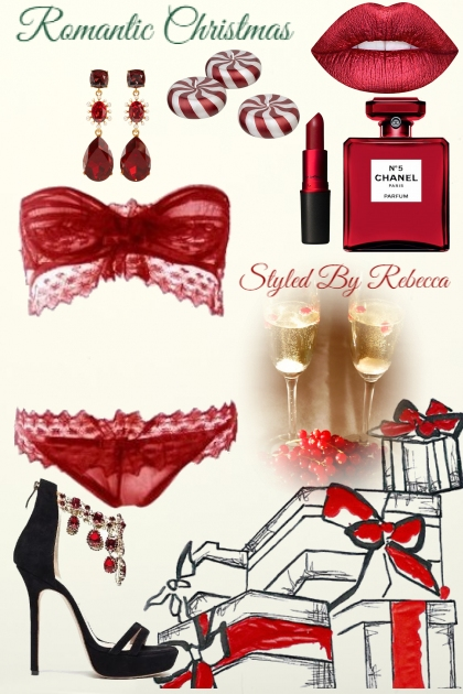 Romantic Christmas -Romance - Fashion set
