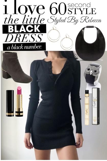 Little Black Dress style in 60 Sec