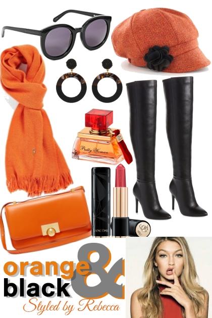 Orange And Black Accessories