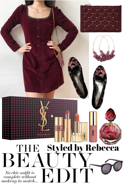 Style In Deep Wine On The Go