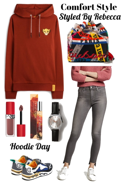 Comfort and Style Hoodie Day