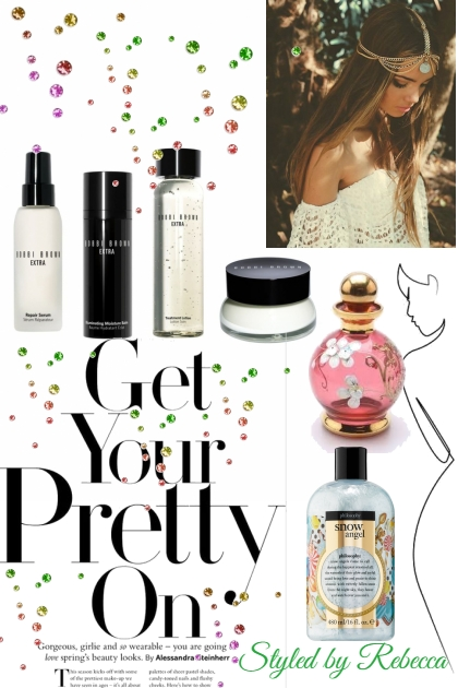 Get Your Pretty On Today- Modna kombinacija