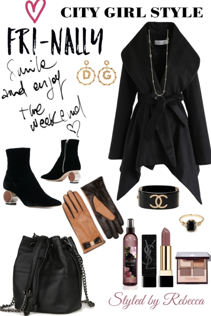 FRINALLY -CITY GIRL LOOK-FALL- Fashion set