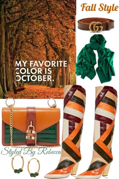 October Fall Colors
