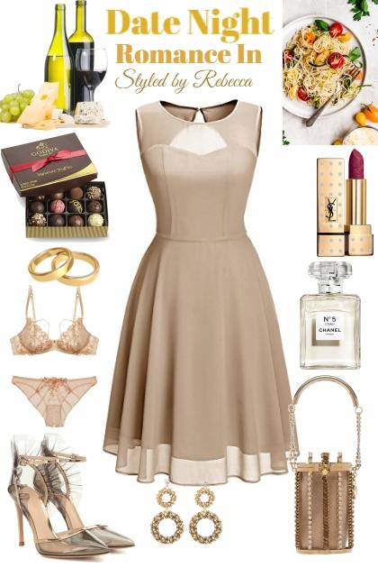 Date Night -Romance In - Combinazione di moda