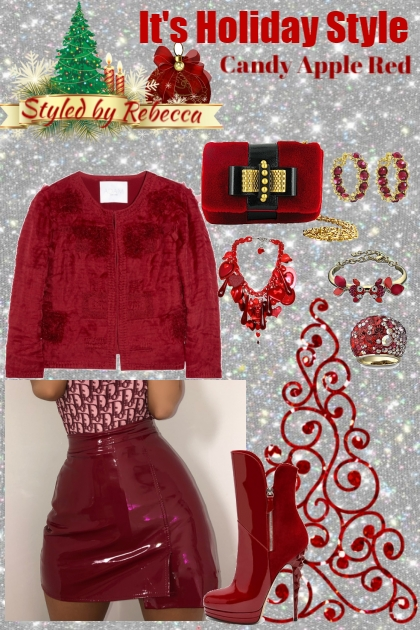 Candy Apple Red-Holiday Style