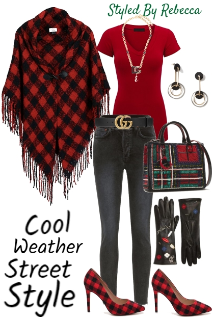 11/19 Street Style -Red Hints