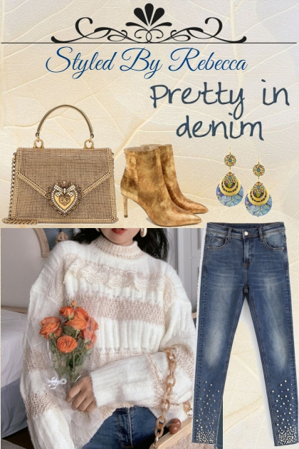 Winter Tops -Pretty In Denim