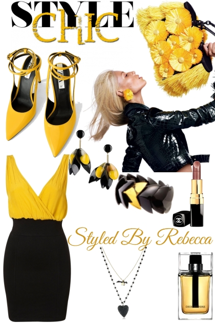 Black and Yellow Style Chic 11/21