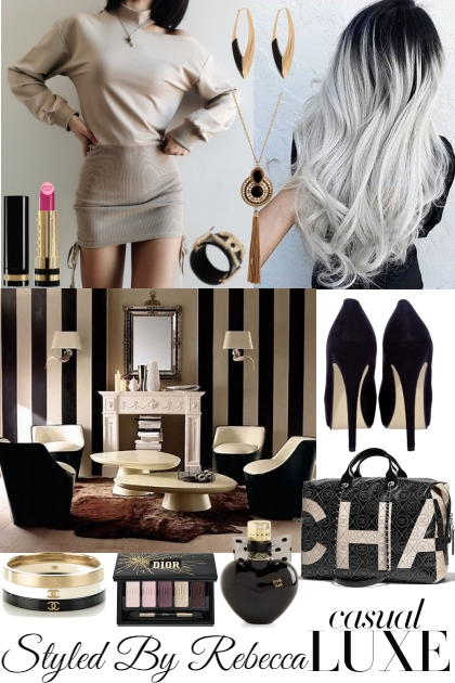 Young Casual Luxe- Fashion set
