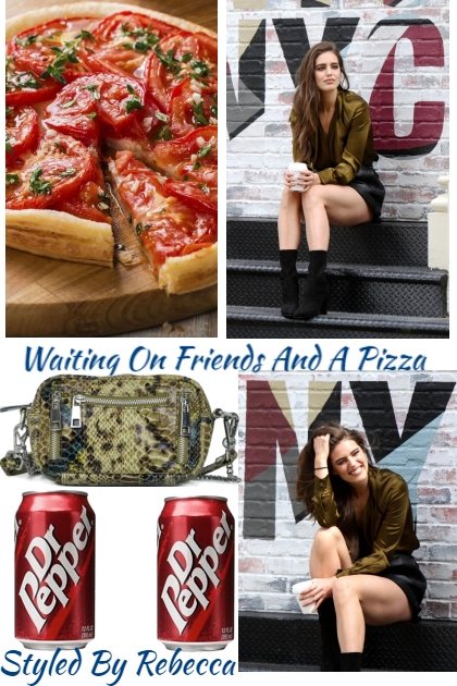 Friends And A Pizza