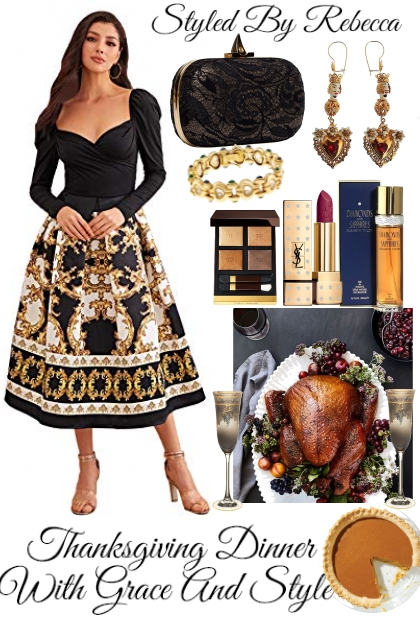 Thanksgiving Dinner With Grace And Style