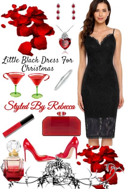 Little Black Christmas Dress