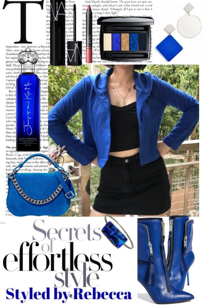 Blue Casual Style