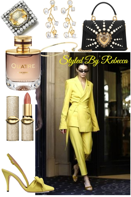 City Looks-A Day For Yellow- Kreacja