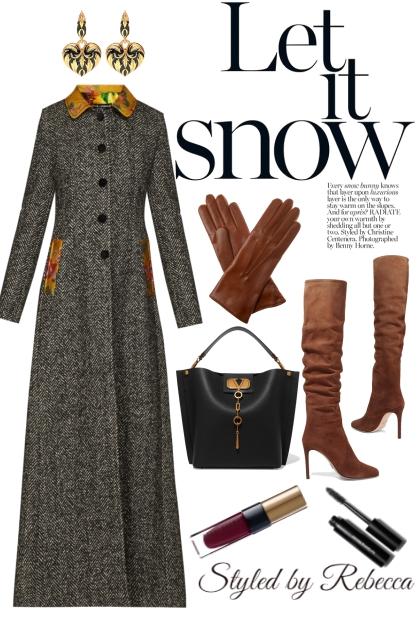 Let It Snow -Long Coats