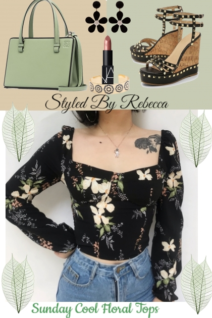 Sunday Cool Floral Tops-December Looks