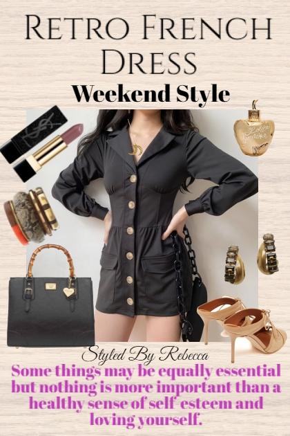 Retro French For The Weekend- Combinaciónde moda