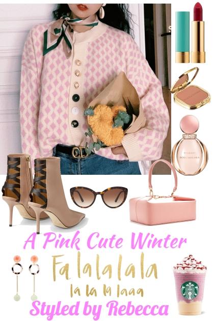 A Pink Cute Winter Top