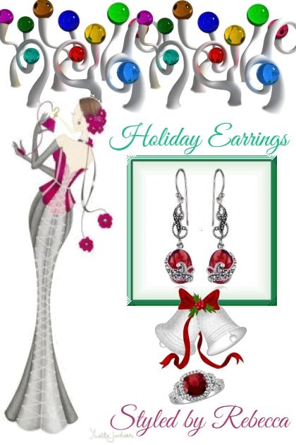 2019 Holiday Earrings