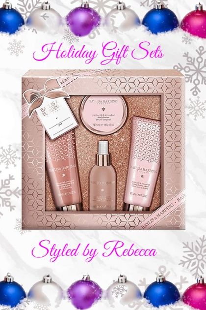 Holiday Gift sets-Beauty 12/10- Fashion set
