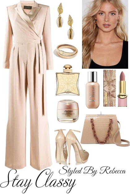 Work Jumpsuits In Nude