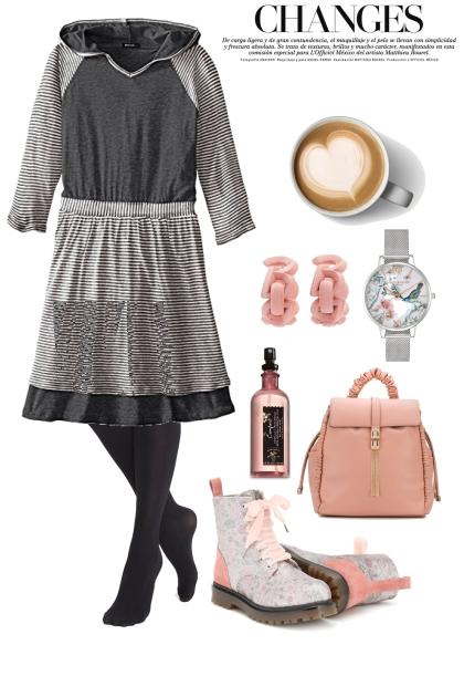Comfort Dress,For Friday- Fashion set