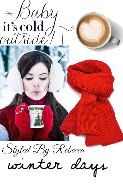Baby It's Cold Outside- Fashion set