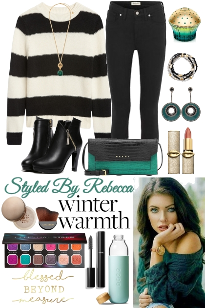 Winter Warmth Style ,For All Body Types- Fashion set