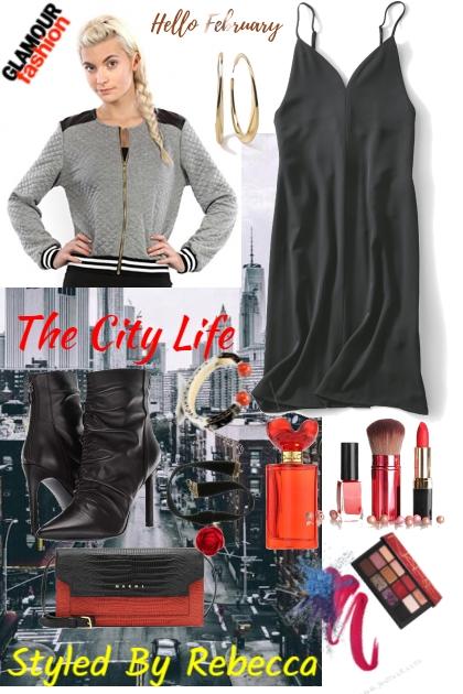 Hello February City -Ny Girls- Combinazione di moda