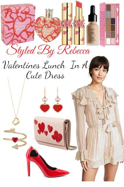 Valentines Day In A Cute Dress-Lunch Date